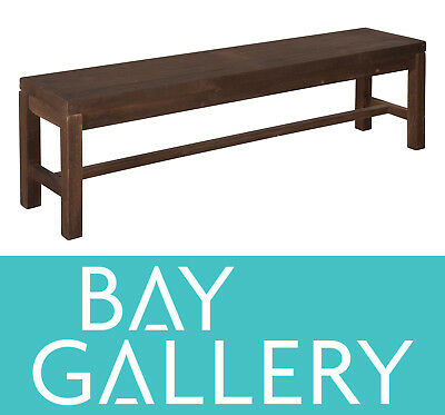 New Rustic Timber 1.6m Bench Seat Wood Wooden Vintage Reclaimed Furniture