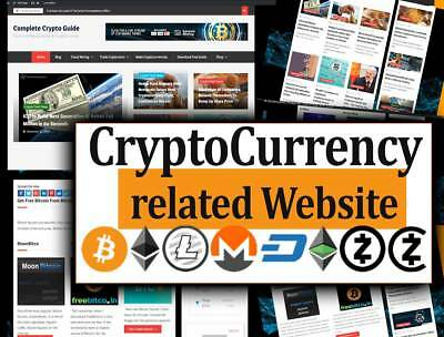 Turnkey Bit coin Website - Autopilot news with Ads and Affiliates