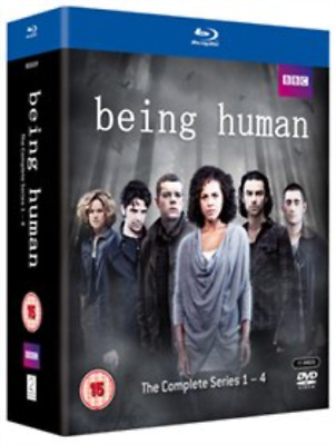 Russell Tovey, Lenora Crichlow-Being Human: Complete Series 1-4  Blu-ray NUEVO