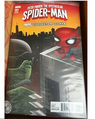 Comic Spiderman #001 Peter Parker The Spectacular Exclusive Limited Edition