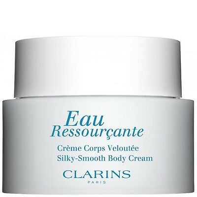 NEW Clarins Eau Ressourcante Silky-Smooth Body Cream 200ml