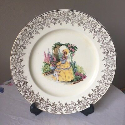 Royal Falcon Ware Plate Weatherby Hanley England