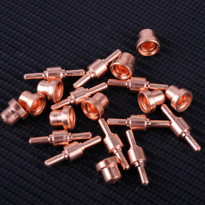 10 Sets Plasma Cutter Torch Tips Electrodes Nozzles Fit LG-40 PT-31 CUT40 CUT50