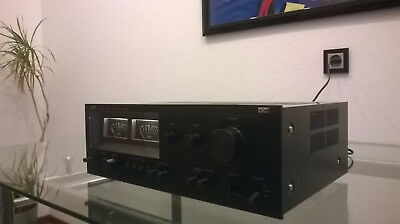 TOP JVC Vollverstärker JA-S22 Schwarz Stereo Integrated Amplifier Vintage 1978