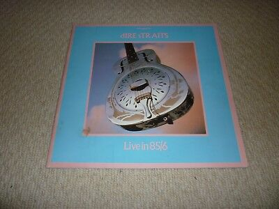 Dire Straits Tour Programme Signed By All Band Live In 85/86 (Brothers In Arms)