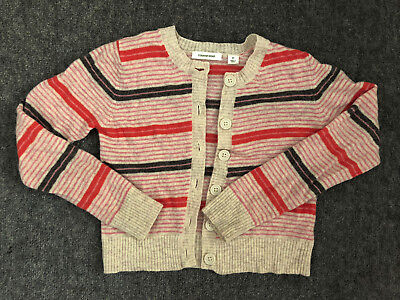 Girls striped Country Road cardigan, sz7 #SundayMarket