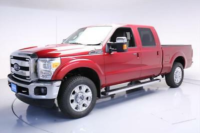 2015 Ford F-250  2015 FORD F-250 LARIAT CREW 4X4 6.2 NAV CLIMATE LEATHER #D53346 Texas Direct