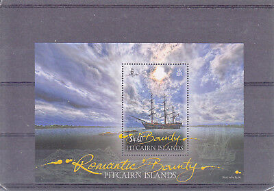 Pitcairn Islands 2012 Romantic Bounty MS MNH