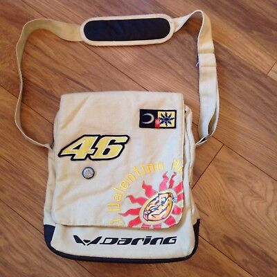 Rare Valentino Rossi Shoulder Bag Official License Product By Daring
