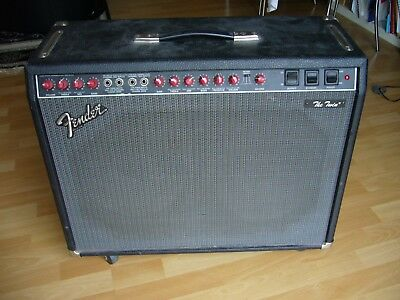 Fender The Twin Amp, Red Knob Version, 100 W, Made In USA