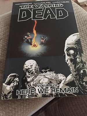 The Walking Dead Volume 9 Here We Remain Graphic Novel