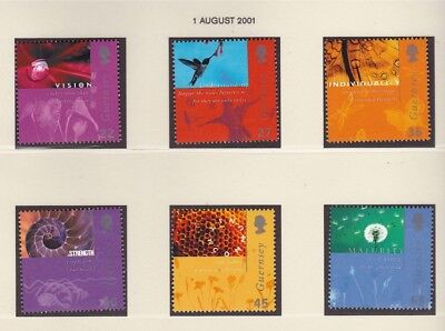Guernsey 2001 Incorporation of Guernsey Post MNH (6)