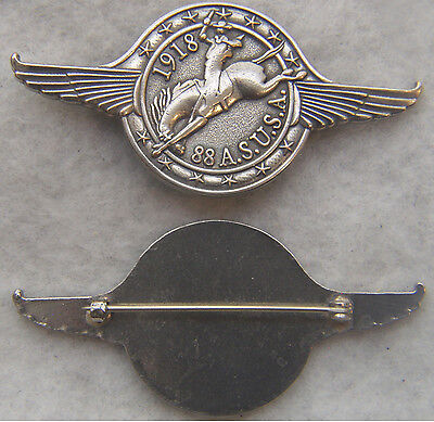 WWI 88th Areo Sqaudron Pin Kicking Mule