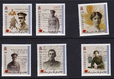 Guernsey 2014 Stories from the Great War Series l MNH (6)