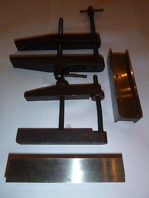 Toolmakers Clamps - 2 Off, Pair Of Paralles