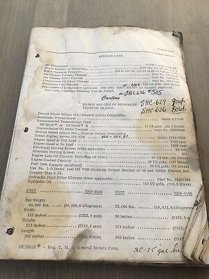 Ingersoll Rand Xhp1150 Of Air Compressor Operation Part & Maintenance Manual