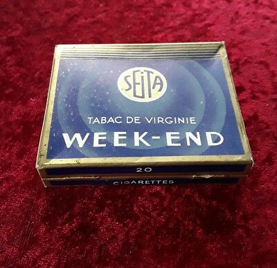 ancien Paquet de cigarettes plein Week-end  collection uniquement