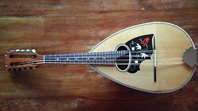 Vintage c.1930 German Concert or Soloist Bowl Back Mandolin by E. Schroth. VGC