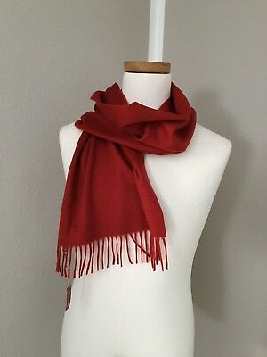 Neu , Loro Piana Schal Scarf, Cashmere, sehr hoher NP, rot, red