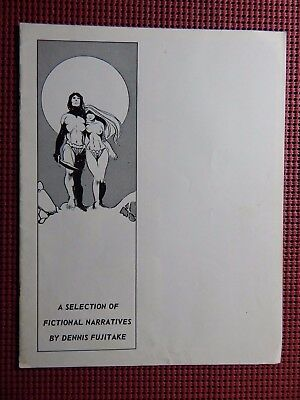 A Selection Of Fictional Narratives By Dennis Fujitake 1971 1st Fantagraphics