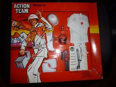 """vintage """" ACTION TEAM """"   OVP ! NOTARTZT outfit"""