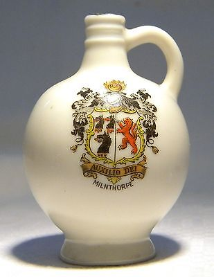 Goss Crested China  Wareham Bottle  Milnthorpe (B35)  Rare