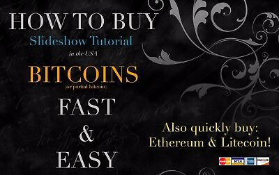 How to Buy Bitcoin .01 BTC and More in the USA Cryptocurrency Altcoin Tutorial