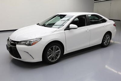 2016 Toyota Camry  2016 TOYOTA CAMRY SE AUTO REAR CAM BLUETOOTH ALLOYS 39K #227145 Texas Direct