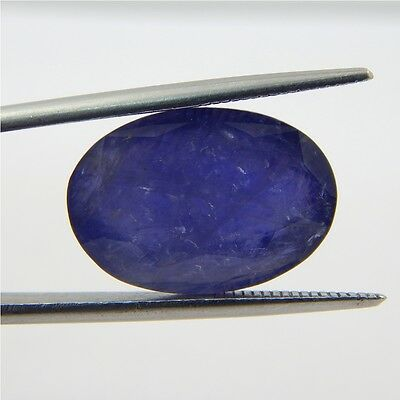 14.7 cts India's Natural Iolite Gemstone Wholesale Loose Cabochon R#232-14