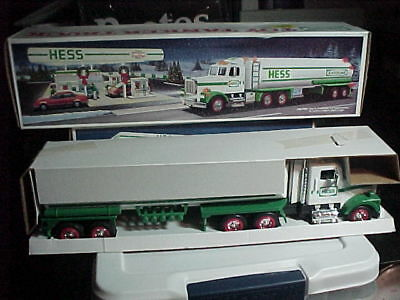 1990 Hess Toy Tanker Truck  MINT NEW IN BOX -
