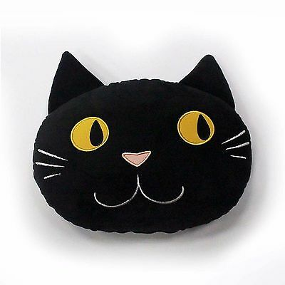 New Black Cat Throw Pillow Decor Sofa Chair