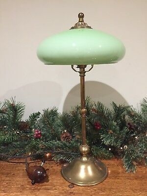 Rare Original Tiffany Art Nouveau WAS Benson Era Antique Lamp & Original Shade.