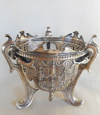 Antique  Elkington & Co silver plated Table Stand c1865 - Very Ornate