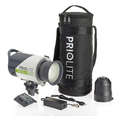 Flash Priolite MBX500 Ultra Kit 2 GO para Nikon