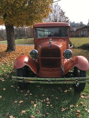 1929 Ford Model A  1929 Ford Model A closed cab Truck