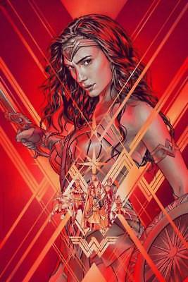 Wonder Woman Martin Ansin Art Print Movie Poster Mondo artist