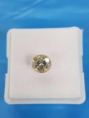 Diamant Diamond Brillant 1,16ct  VVS1 Champagner Brilliantschliff