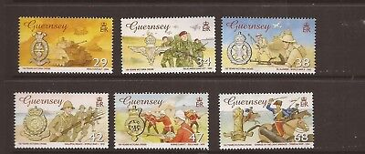 Guernsey 2006 Victoria Cross Mnh Set Of  Stamps