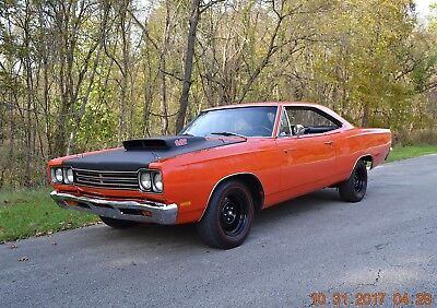 1969 Plymouth Road Runner A-12 440 6 PAC DANA 60 1969 ROADRUNNER RM21 WITH FULL A-12 440 6PAC 4SPD DANA 60 TRIBUTE EXCELLENT