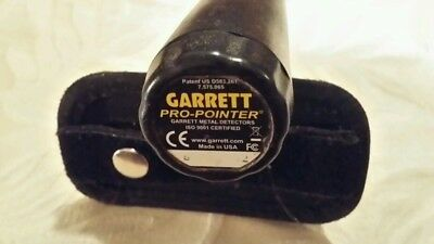 Garrett Pro-Pointer metal detecting pin pointer with belt holster