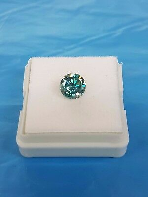 Diamant Diamond Brillant 1,23ct VVS1 Fancy Blue Brilliantschliff