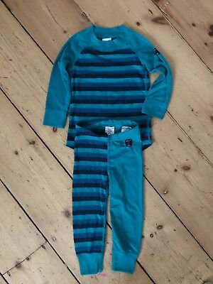 Polarn O.Pyret Baby Base Layer Thermals size 6-12 months in great condition