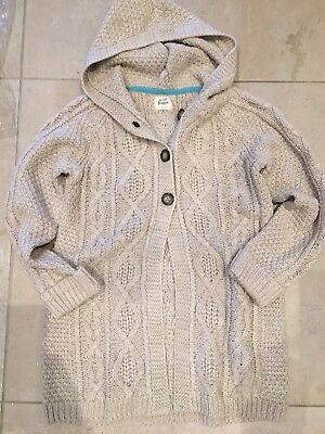 Mini Boden Girls 9-10 Years Brand New In Packaging Hooded Cardigan