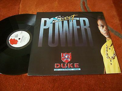 "DUKE & D.J LEADER 1 - sweet power 12"" single.... 1990"