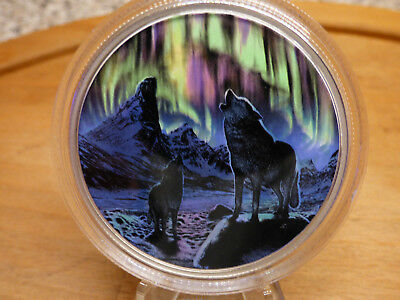 30 $ Kanada 2016 Nordlichter  2 Oz Glow in the Dark - 2. der Serie