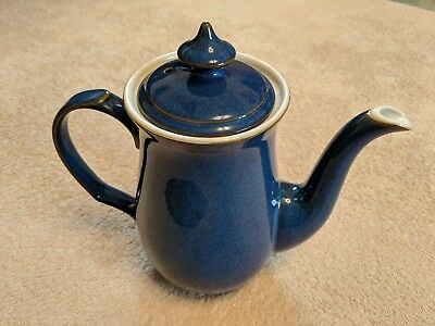 Denby Imperial Blue Large Coffee Pot. Christmas Present