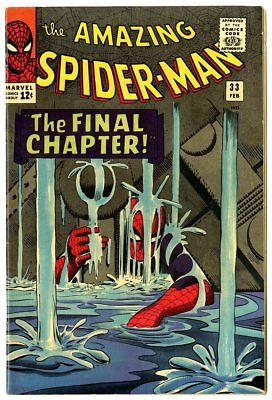 Amazing Spider-Man #33 VF/NM 9.0  The Final Chapter!  Marvel  1966  No Reserve