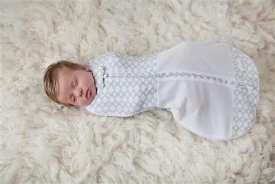 Woombie Grow With Me Air Swaddle + Sleep Bag 0-18months