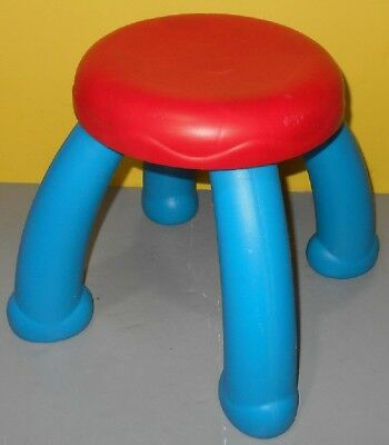 Crayola Creativity Play Station Desk Replacement Chair Stool Red / Blue