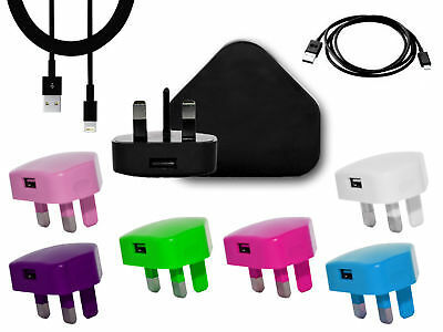 Main Charger Plug+Data Cable For Apple iPhone 5c 5s 5g 6 7 plus 6s 8 8+ X 10